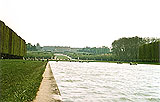 Die Strecke im Schlosspark von Versailles   Foto: Kathrin Welzel